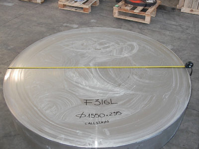 235mm thick Stainless Steel Disc